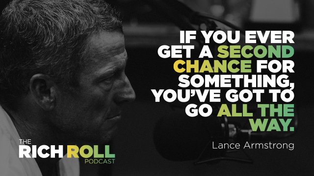 Lance Armstrong Is Moving Forward | Rich Roll
