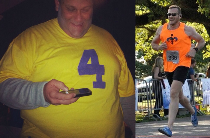He didn't just lose weight. He became an athlete.