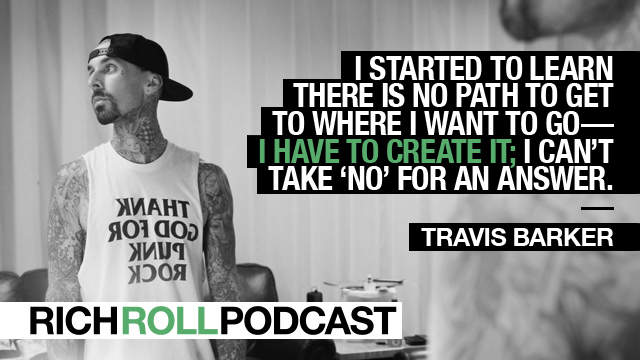 Crossroads Kitchen Travis Barker travis barker on premonition, intuition & following your heart