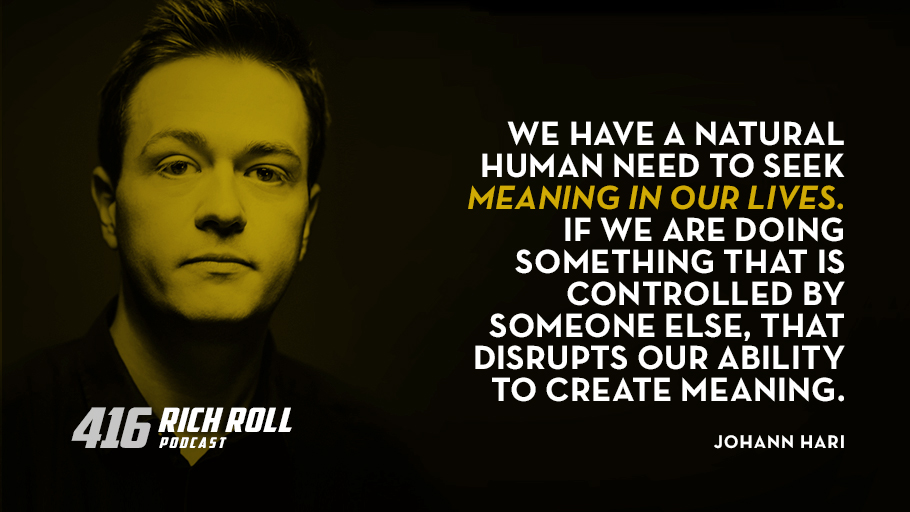 What Causes Addiction & Depression? Johann Hari On Lost