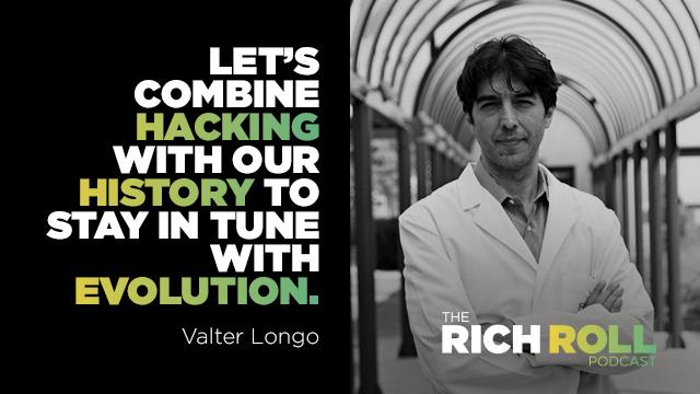 Fasting For Longevity: Valter Longo, Ph D  | Rich Roll