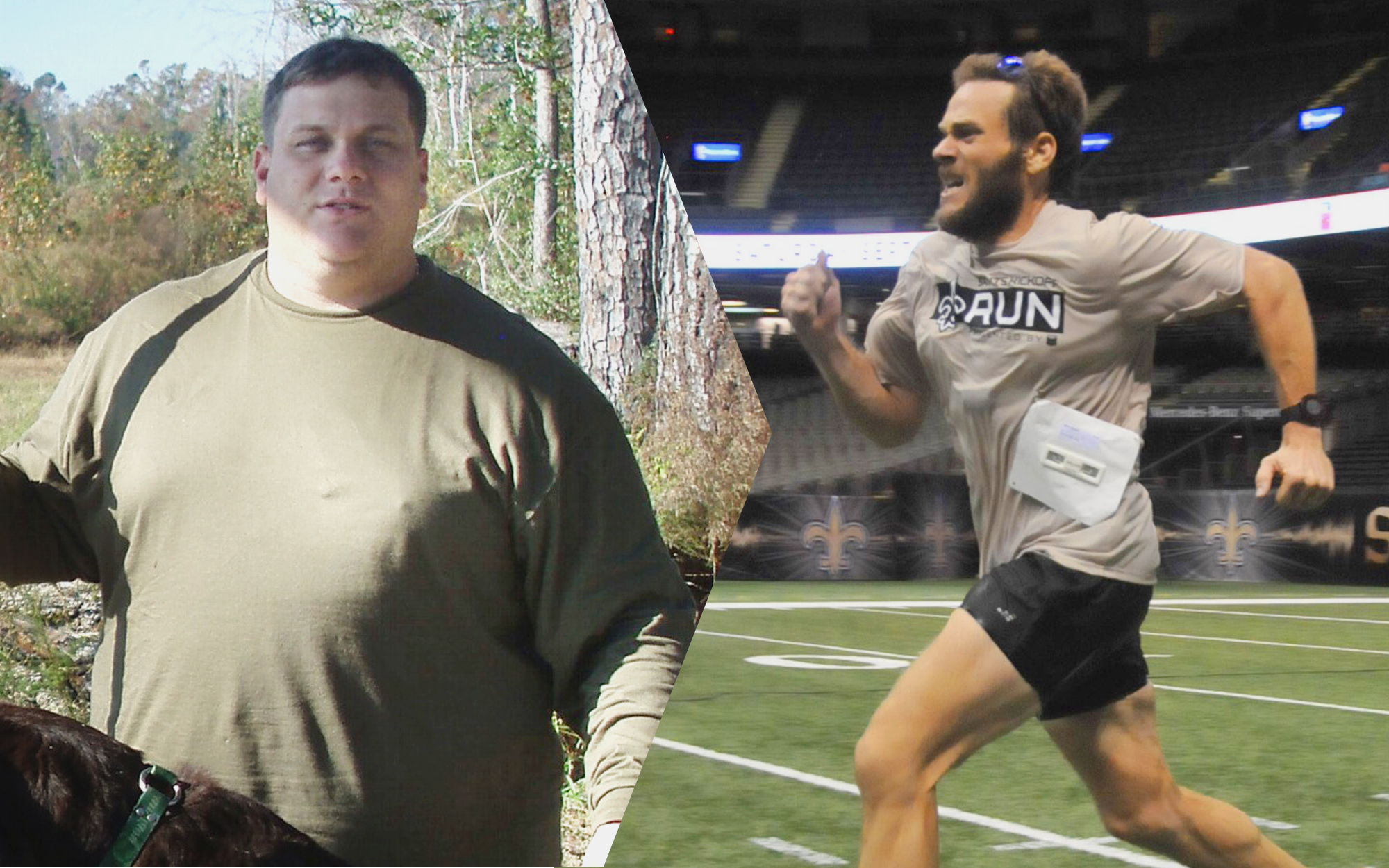 how josh lajaunie lost 200 lbs  u0026 became an athlete