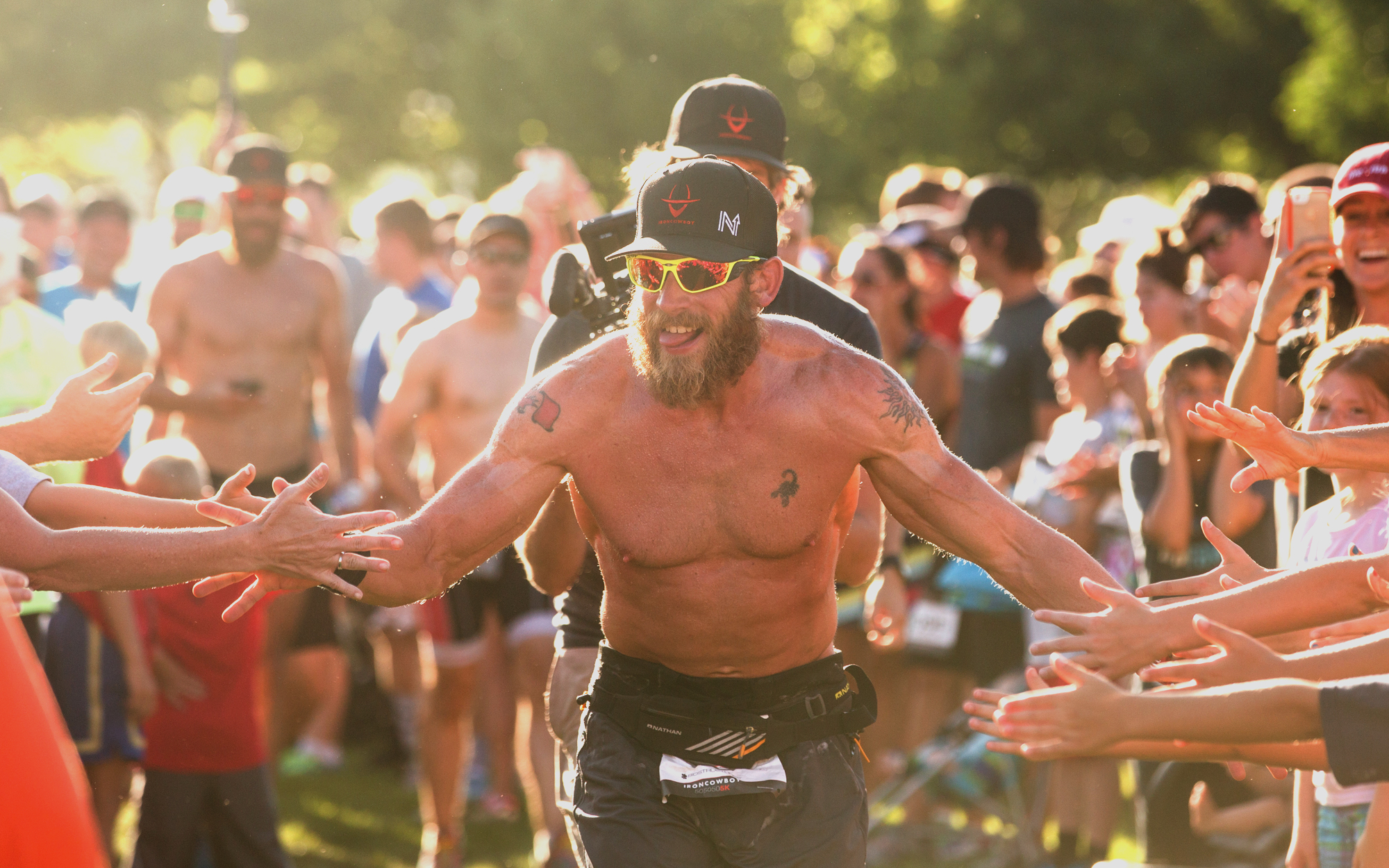 the iron cowboy did it  50 ironmans  50 states  50 days